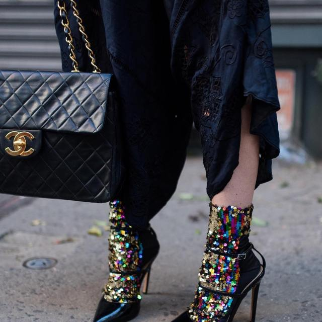 Obsessed with the sock trend and these sequin socks arehellip
