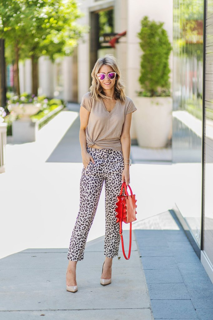 leopard-pants-j.crew-shimmer-vneck-tee-city-peach
