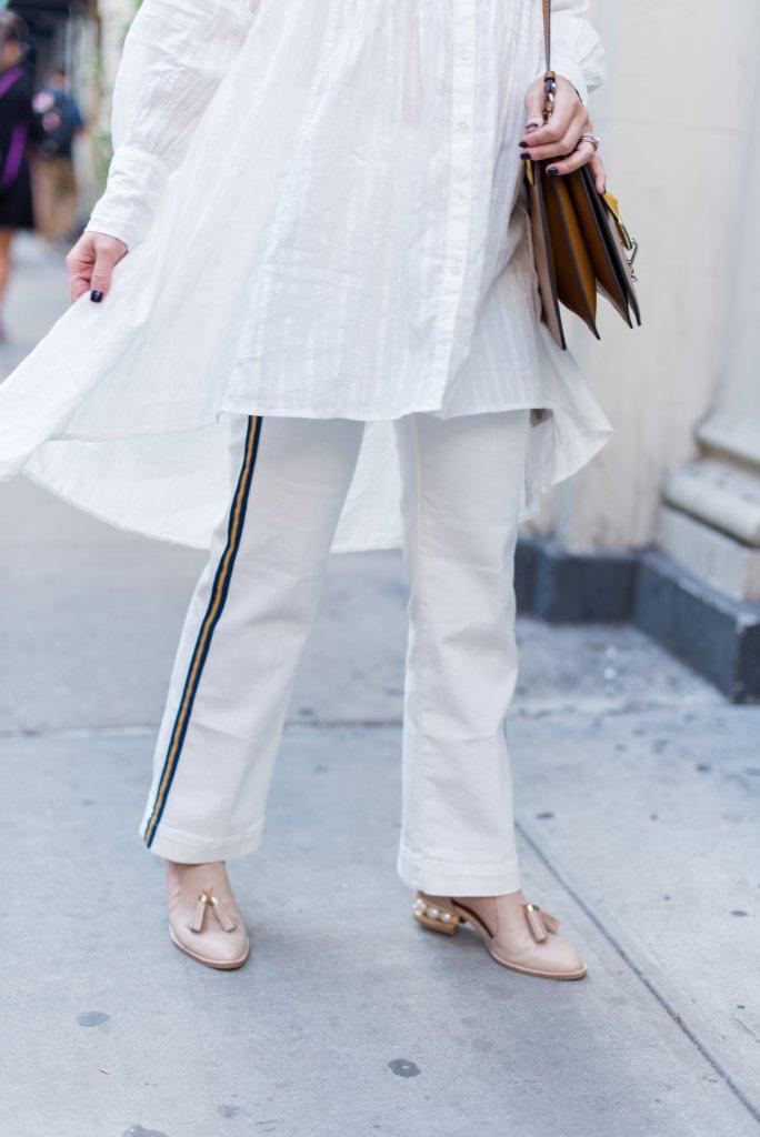 stripe-trouser-straight-leg-denim-anthropologie-boho-tunic-NYFW-city-peach