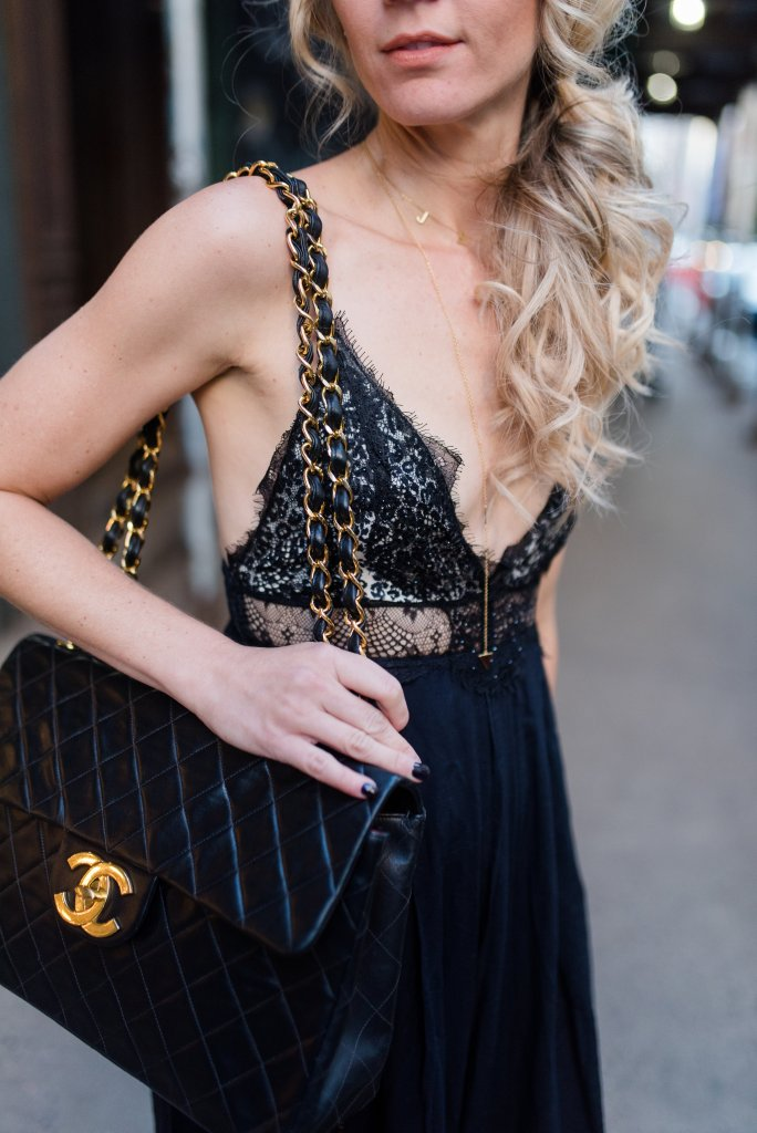 sequin-socks-free-people-lace-jumpsuit-NYFW-city-peach