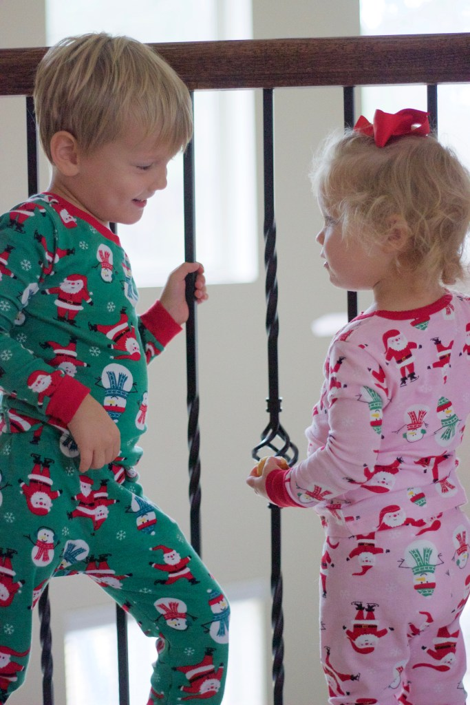 Carter's-holiday-pajamas-toddler-style-mommy-and-me-city-peach