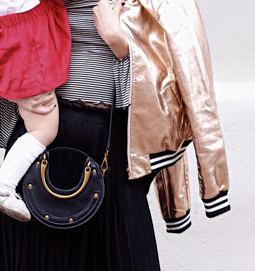 mommy-and-me-style-BURU-mom-nantucket-kids-city-peach-gold-bomberjacket-Chloe-pixie