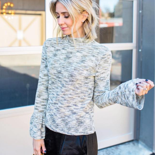 Todays blog post is an ode to the dressy sweaterhellip