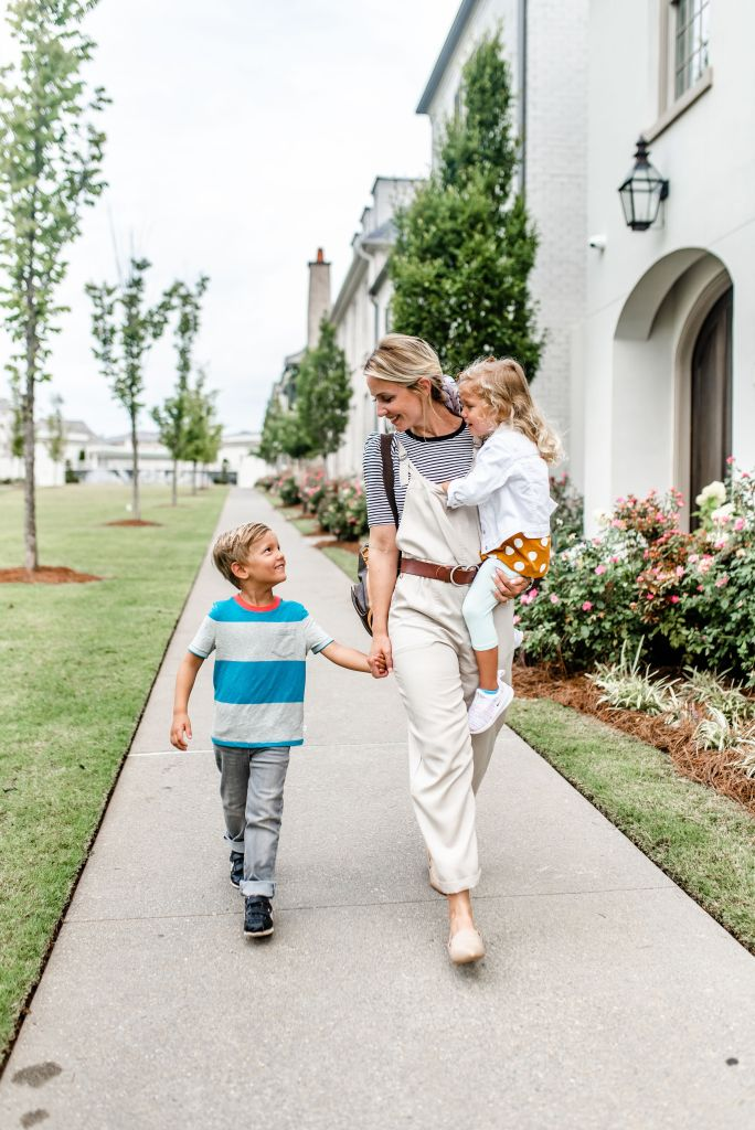 Back to School Style: What my Kids are Wearing This Year by popular Georgia fashion blog, City Peach: image of a woman wearing
