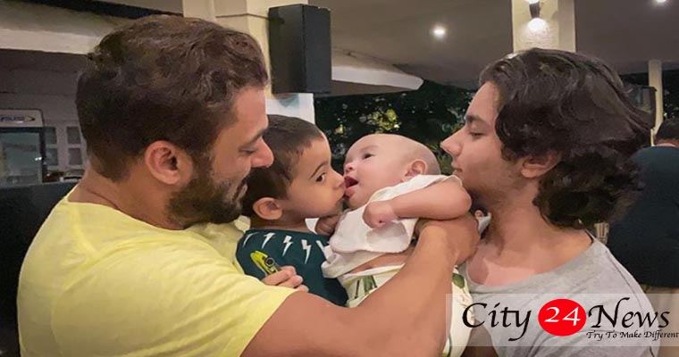 Salman Khan shares picture of Nephews Ahil on Instagram
