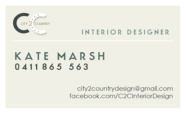 Kate Marsh. Interior Designer Wangaratta