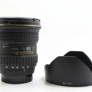 高雄青蘋果3c買賣回收TokinaAT-X Pro SD 12-24mm F4 (IF) DX 廣角鏡頭