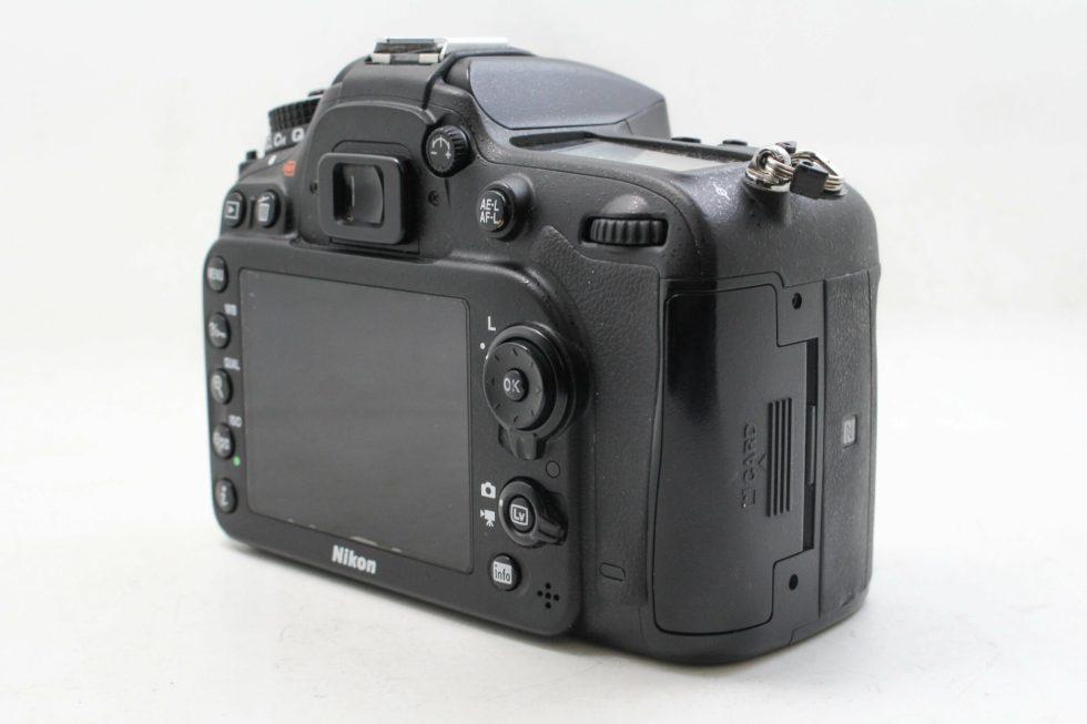高雄交換折抵中古NIKON D7200 單眼數位相機