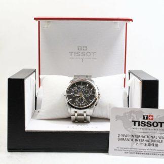 高雄青蘋果3c收購二手天梭T-Trend Couturier系列手錶