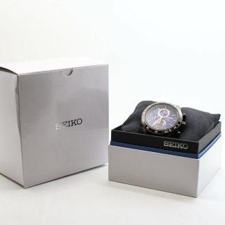 高雄青蘋果3c估價收購SEIKO精工 Criteria 零極限三眼計時腕錶