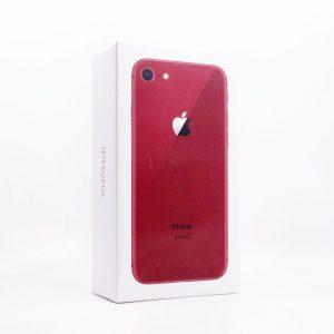 台中哪裡收購門號續約用不到的 iPhone8 紅 64GB 全新未拆封