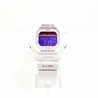 高雄青蘋果3c收購二手Casio Baby-G BLX-5600-7DR 紫×粉紅×白 潮流錶款