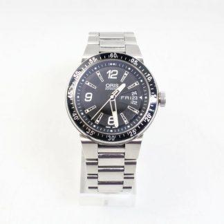 高雄青蘋果3c收購二手ORIS Williams F1 Team 賽車機械腕錶