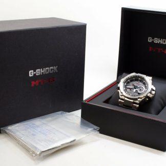 高雄文化中心回收二手G-SHOCK MTG 太陽能旗艦電波飛行錶