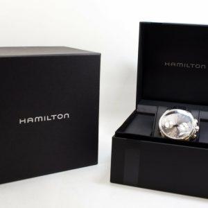 高雄青蘋果3c收購二手Hamilton 漢米爾頓爵士系列機械精品錶