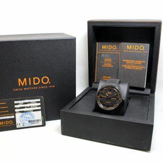 高雄青蘋果3c收購二手MIDO Great Wall 天文台認證機械錶