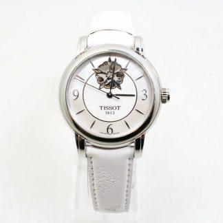高雄青蘋果3c專業收購二手TISSOT Lady Heart 花朵鏤空機械腕錶