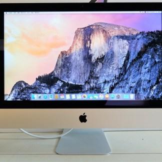 高雄青蘋果3C買賣收購iMac 21.5吋 i5 1.4G 8G 500G HD5000 蘋果電腦