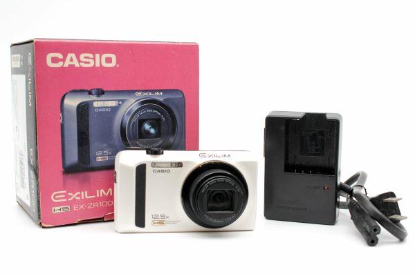 高雄青蘋果3c買賣交換中古Casio EXILIM EX-ZR100 數位相機