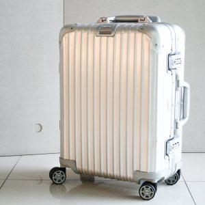 高雄青蘋果3c收購中古RIMOWA 旅行箱 923.53.00.4 鋁鎂合金 銀色 四輪行李箱