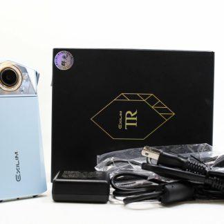 台南橙市3c 中古Casio TR80 TR-80 淺藍 二手 自拍神器 公司貨