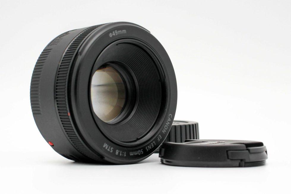 高雄青蘋果3C買賣交換二手Canon EF 50mm f1.8 STM 定焦鏡