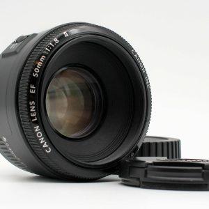 高雄青蘋果3c專業買賣中古Canon EF 50mm f1.8 II 人像定焦鏡
