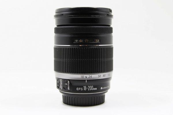 高雄青蘋果3C買賣收購二手Canon EF-S 18-200mm f3.5-5.6 IS 望遠鏡頭
