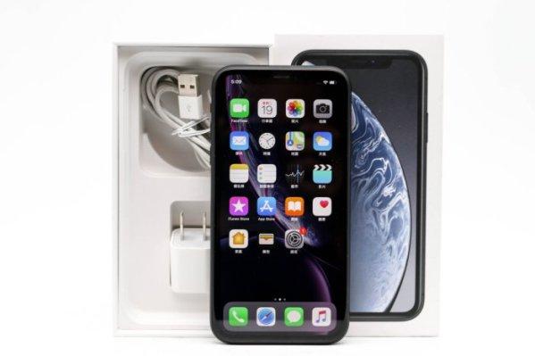 二手手機專業收購 橙市3C Apple iPhone XR 128G 128GB 黑