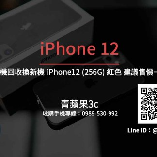 Apple iPhone 12 256G 紅色