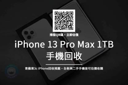 iPhone 13 pro max 1TB 回收