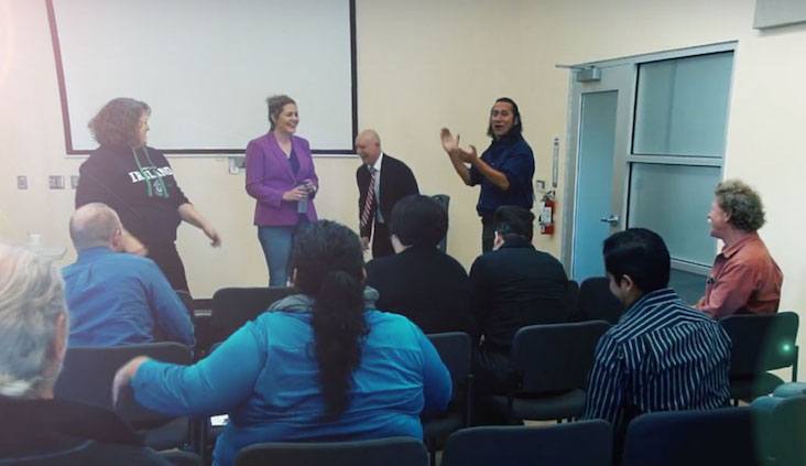 Photo of City Aly Alive Community Navigator Event