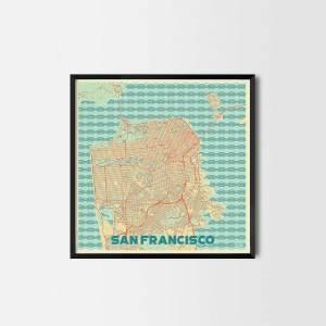 San Francisco City Prints