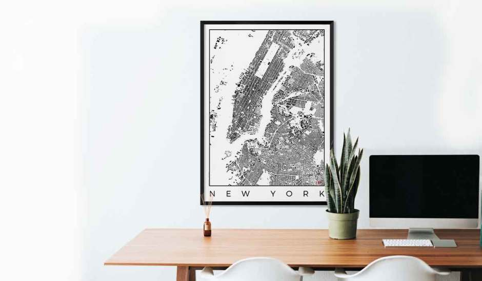 City Art Posters Map Posters And Art Prints Gifts For City Lovers