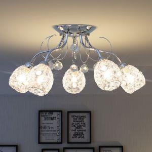 Lubų šviestuvas su 5 G9 lemputėmis, 200 W