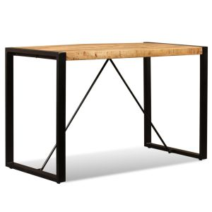 vidaXL Valgomojo stalas, masyvi mango mediena, 180cm
