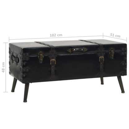 Kavos staliukas, MDF ir plienas, 102x51x48cm