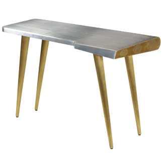 vidaXL Aviator rašomasis stalas, 120x60x76cm, vint. lėktuvo stil.
