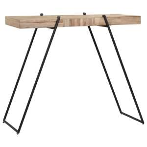 Baro stalas, 120x55x107cm, perdirbta tikmedžio mediena
