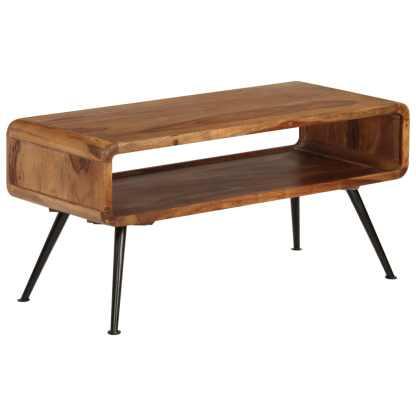 Kavos staliukas, rausvosios dalbergijos med., 95x40x45cm