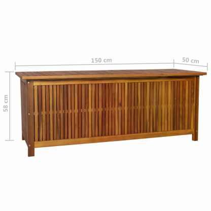Sodo daiktadėžė, 150x50x58cm, akacijos medienos masyvas