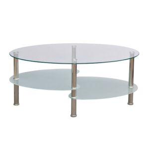 Kavos staliukas su išskirtiniu dizainu, baltas