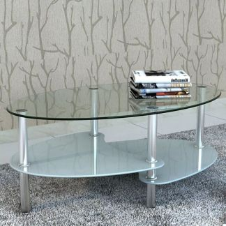 vidaXL Kavos staliukas su išskirtiniu dizainu, baltas