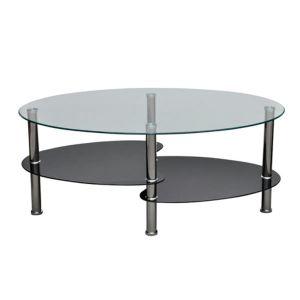 Kavos staliukas su išskirtiniu dizainu, juodas