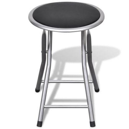 Baro kėdės, 4 vnt., sulankstomos