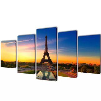 """Fotopaveikslas """"Eifelio Bokštas"""" ant Drobės 200 x 100 cm"""