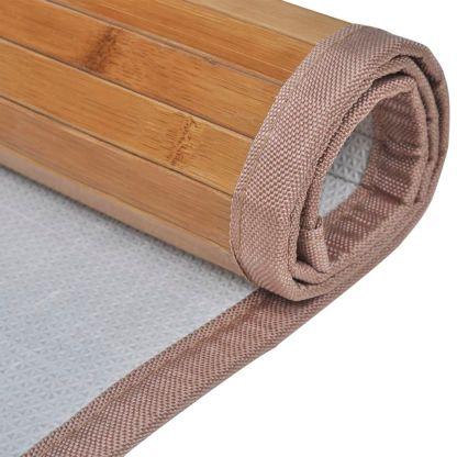 Bambukinis Vonios Kilimėlis, 60 x 90 cm, Rudas