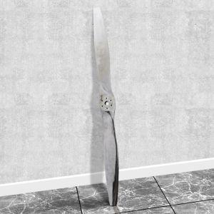 Dekoratyvinis Lėktuvo Propeleris iš Aliuminio, 182 cm, Sidabro Spalvos