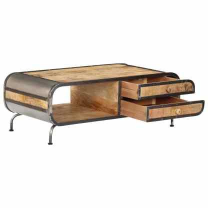 Kavos staliukas, 100x50x35 cm, mango medienos masyvas