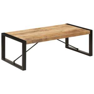 vidaXL Kavos staliukas, 120x60x40 cm, mango medienos masyvas